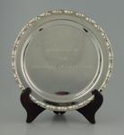 Silver dish, presented by Shanghai Cricket Club