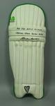 Batting pads used by Allan Border during 1994-95 Sheffield Shield season