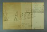 Lithograph, International Cricket Match 19 Jan 1883