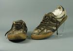 Running shoes worn by Tony Rafferty during Marathon Walk, 1971