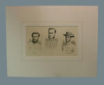 "Print, ""Three Australian Bowlers"" - 1880"