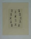 "Print, ""THE AUSTRALIAN CRICKETING TEAM"" - 1882"