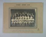 Photograph of Fitzroy Cricket Club, 1930-31