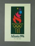 Postcard, 1996 Atlanta Olympic Games logo