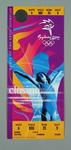 Ticket for 2000 Sydney Olympic Games closing ceremony, 1 Oct