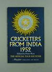 """Booklet, """"Cricketers from India 1952"""""""