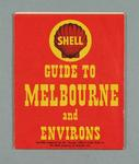 Map - 'Shell Guide to Melbourne and Environs' - 1956 Olympic Venues guide