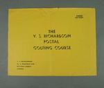 Booklet, The VS Richardson Scientific Postal Golf Lessons