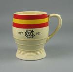 Ceramic mug, Marylebone Cricket Club 1787-1937