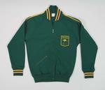 1968 Olympic Games Australian team tracksuit top, worn by Raelene Boyle