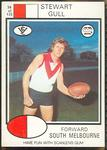 1975 Scanlens VFL Football Stewart Gull trade card