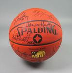 Basketball, signed by 1992 Australian Olympic Games team