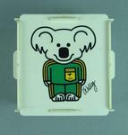 """Money box - 1984 Los Angeles Olympic Games, Supporters Club  - """"Willy says Join the ANZ Olympic Supporters' Club"""""""