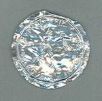 Foil milk bottle cap - XVI Olympic Games, Melbourne 1956 -  soccer souvenir