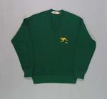 Green 'V' Necked, long sleeved jumper worn by golfer Douglas W. Bachli