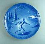 Plate - XX Olympiade Munchen 1972 - souvenir 1972 Olympic Games, Bavaria