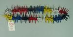 Necklace - Hawaiian Lei made of wooden golf tees c. 1990