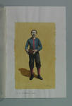 Watercolour, H C A Harrison, by artist Robert Ingpen 2001, MCC Tapestry no. 15
