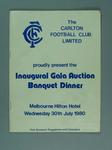Souvenir Auction Programme and Catalogue