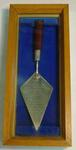 Trowel, used by Prince Philip to lay Western Stand foundation stone - 3 March 1967