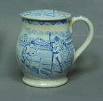 Mug, cricket design