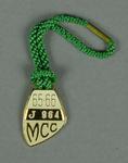 Melbourne Cricket Club junior membership medallion, season 1965/66