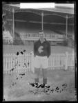 Glass negative, image of Carlton Football Club player - Tom Carroll