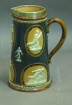 Ceramic jug, cricketers design
