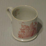 Mug, Victorian cricket design