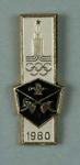 Badge, 1980 Olympic Games - Fencing