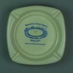 Ashtray, Melbourne Cricket Ground - First Test Match, March 1877
