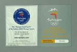Ceremonies card, Sydney 2000 Olympic Games Opening Ceremony audience kit