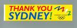 Sticker, Sydney 2000 Olympic Games bid