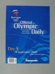 Programme, Sydney 2000 Olympic Games - Day 9
