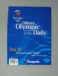 Programme, Sydney 2000 Olympic Games - Day 15