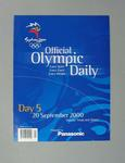 Programme, Sydney 2000 Olympic Games - Day 5