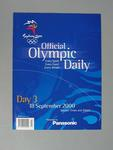 Programme, Sydney 2000 Olympic Games - Day 3