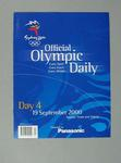 Programme, Sydney 2000 Olympic Games - Day 4
