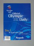 Programme, Sydney 2000 Olympic Games - Day 1