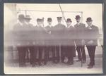 Photograph from Frank Laver's photograph album, Australian cricket team tour to England - 1905