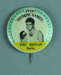 Lapel pin, 1956 Australian Olympic Games team - Tony Madigan
