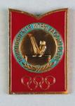 Badge, 1980 Olympic Games - Gymnastics (Parallel Bar)
