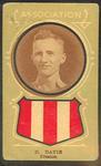 Trade card featuring Harry Davie c1930s