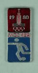 Badge, 1980 Olympic Games - Football