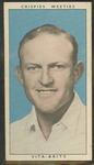 1948 Weeties Crispies Vita-Brits Leading Cricketers series Ron James trade card