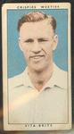 1948 Weeties Crispies Vita-Brits Leading Cricketers series Sam Loxton trade card