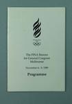 Programme, FINA General Congress 1989
