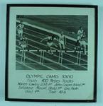 Photograph of men's 400m hurdles final, 1964 Olympic Games