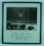 Photograph of men's pole vault, 1964 Olympic Games