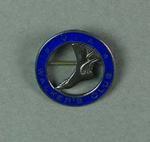 Lapel pin, Victorian Amateur Walker's Club c1930s-40s